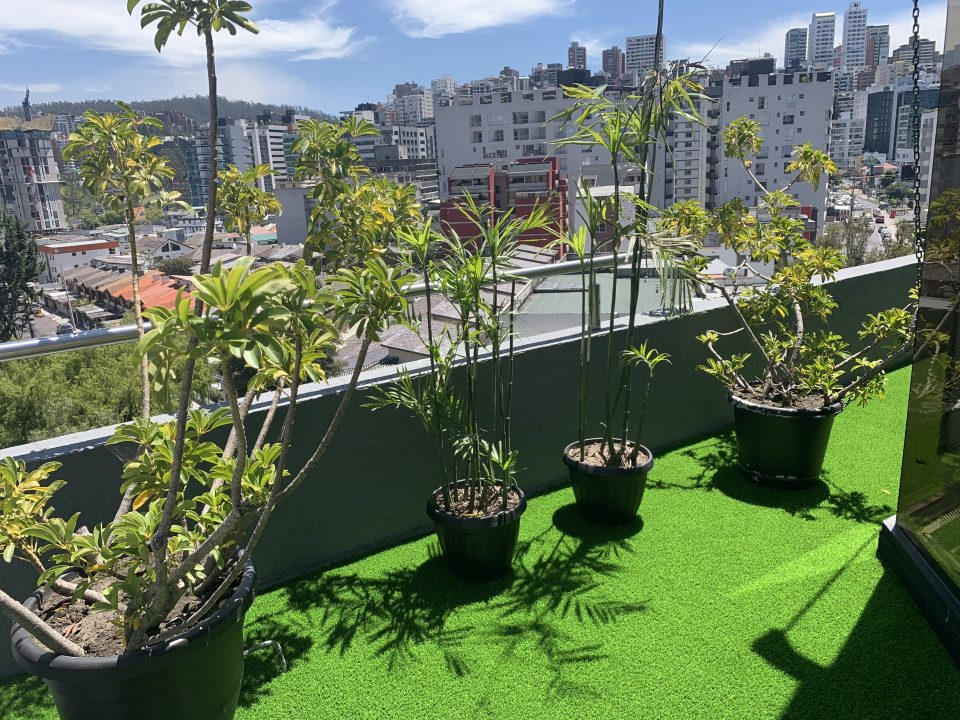 Césped sintético decorativo Quito
